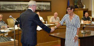 Clara Fitzgerald sworn in