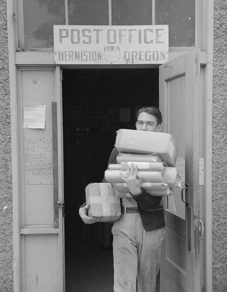 Coming out of Post Office