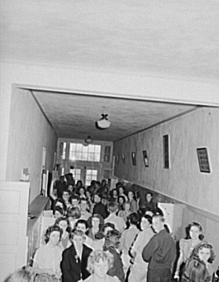 Crowded Schoolhouse