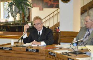 Brookshier at Council Meeting