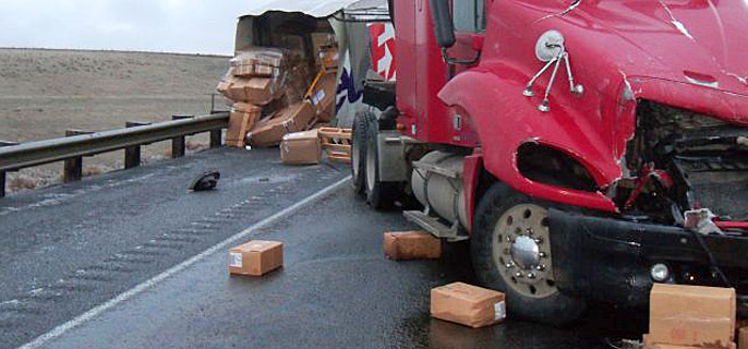 FedEx Crash Closes I-84 Near Pendleton – Northeast Oregon Now
