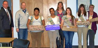 Girl Scouts Donate to Schools