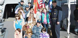 Girl Scouts Navy