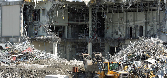 Home Depot Demolition : Chemical depot demolition off to good start northeast