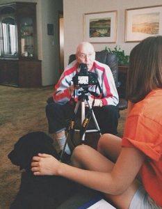 Megan Interviews Frank Harkenrider