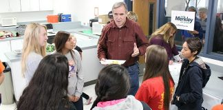 Jeff Merkley at UHS