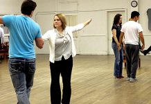 Dancing with Stars Rehearsal