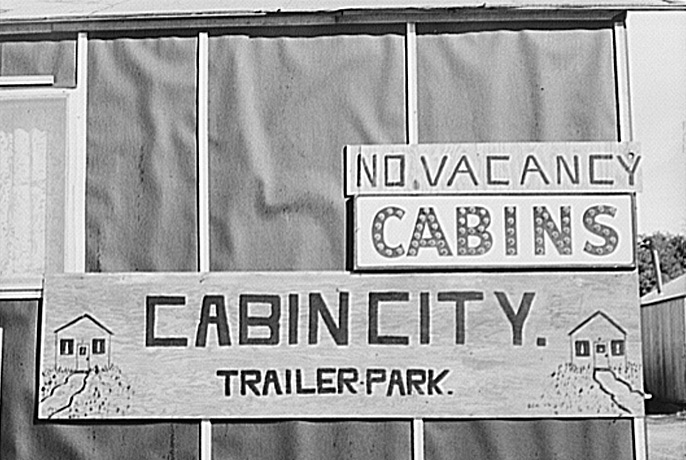 No Vancancy Signs