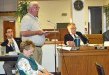 Ray Jones Addresses City Council