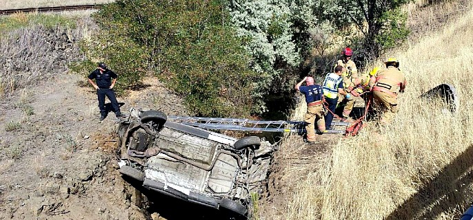 River Road accident