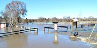 Riverfront Park flooding