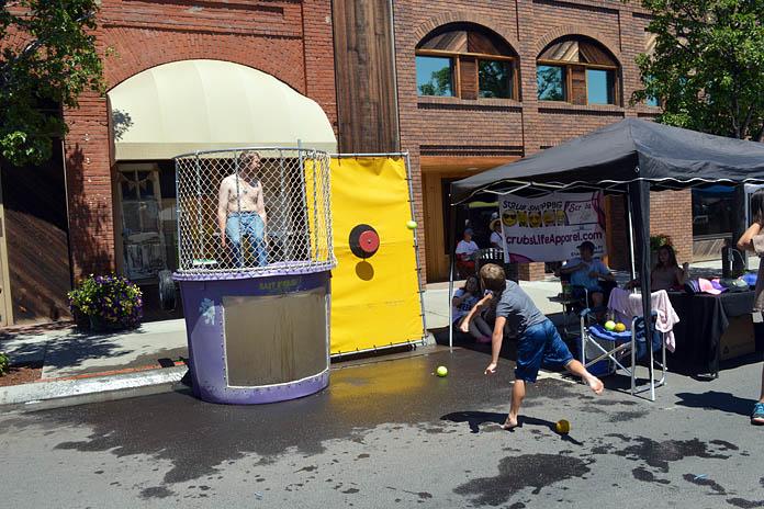 2017 Funfest Dunk Tank