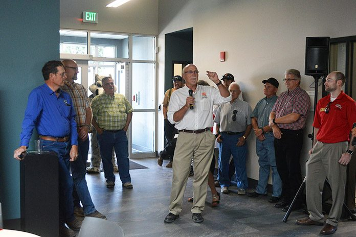 Precision Irrigated Ag Center Opening
