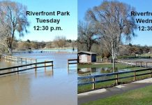 Riverfront Water Recedes
