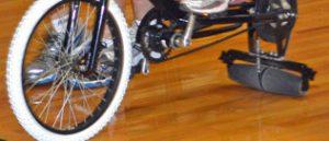 Roller bike wheel